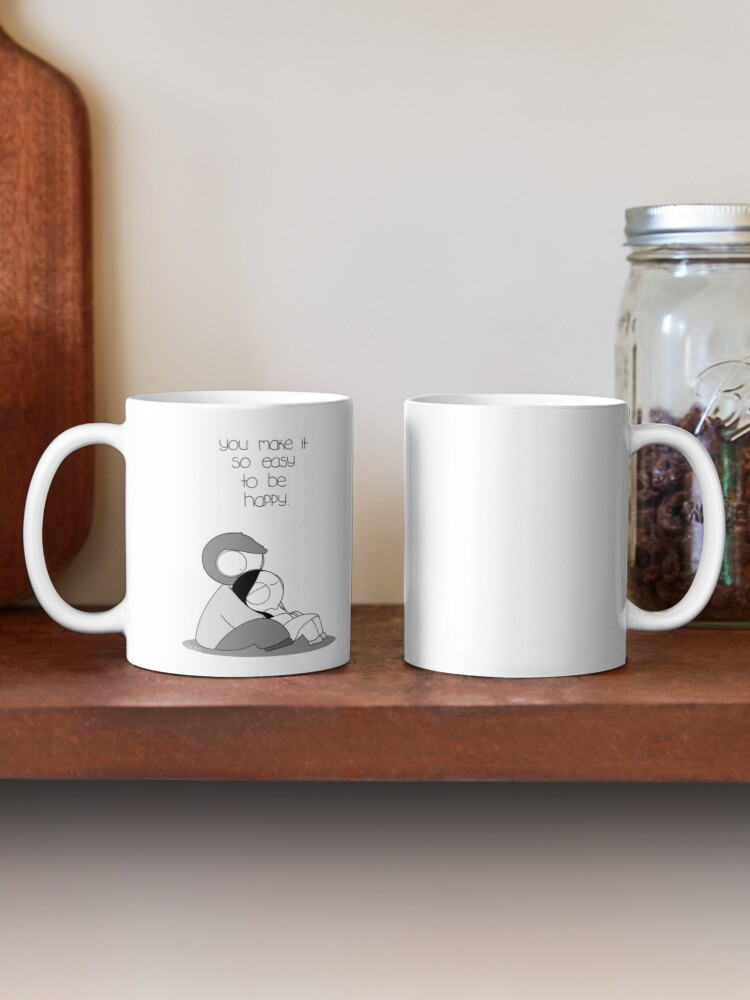 Alternate view of Easy To Be Happy Mug