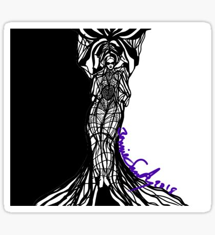 Woman Within Sticker
