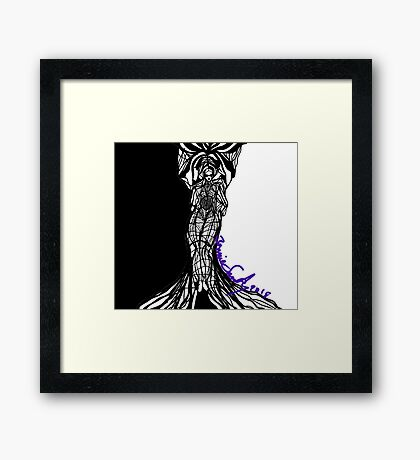 Woman Within Framed Print