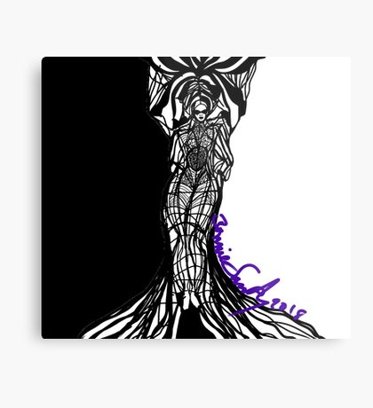 Woman Within Metal Print