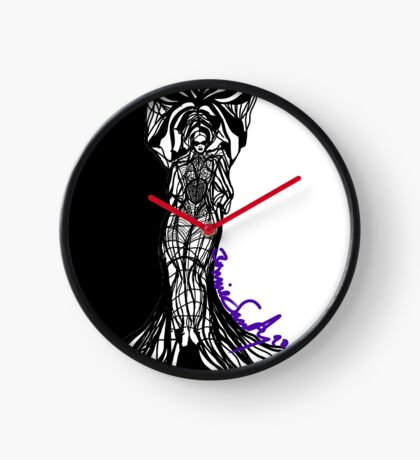 Woman Within Clock