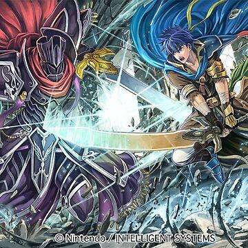 Black Knight vs. Ike - Fire Emblem Cipher by Toshiyena