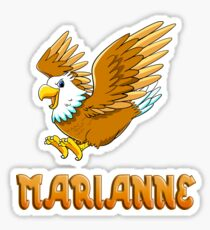 Marianne Eagle Sticker Sticker