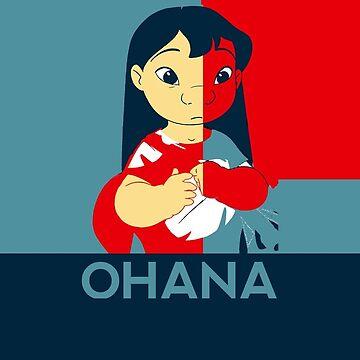 Ohana Poster Case by elevensie