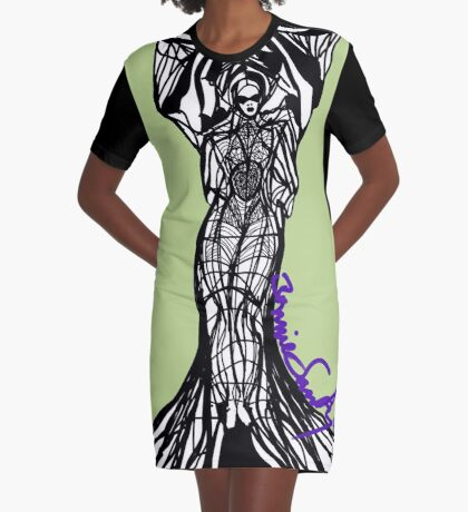 Woman Within3 Graphic T-Shirt Dress