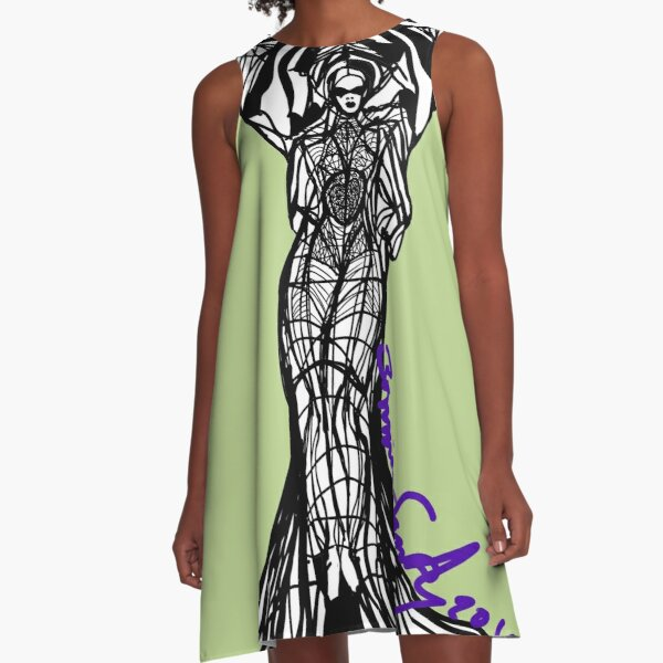Woman Within3 A-Line Dress