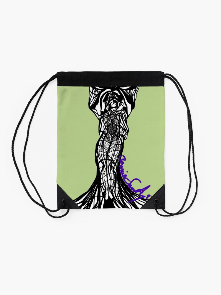 Alternate view of Woman Within3 Drawstring Bag