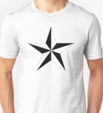 5 Point 3D Star Unisex T-Shirt
