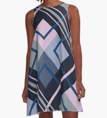 Dark geometry A-Line Dress