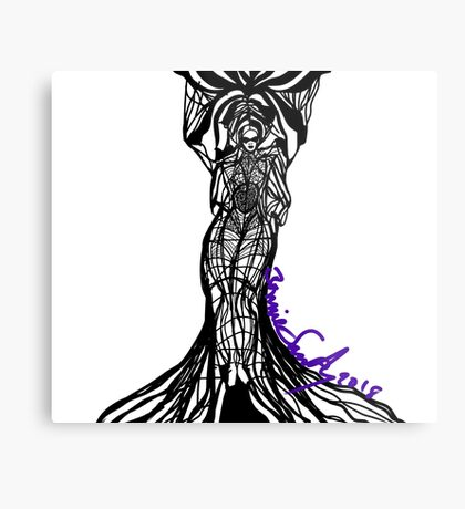 Woman Within1 Metal Print