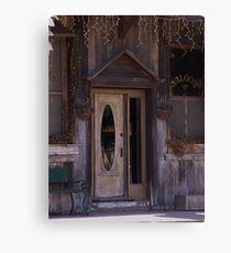 Saloon Door  Canvas Print
