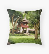 Temple of Literature Throw Pillow