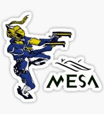 Mesa Aim Gliding Sticker