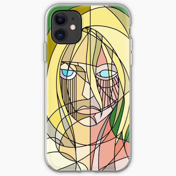 Abstract Annie iPhone Soft Case