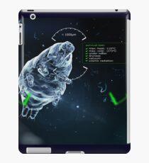 little Tardigrade -  big survivalist iPad Case/Skin