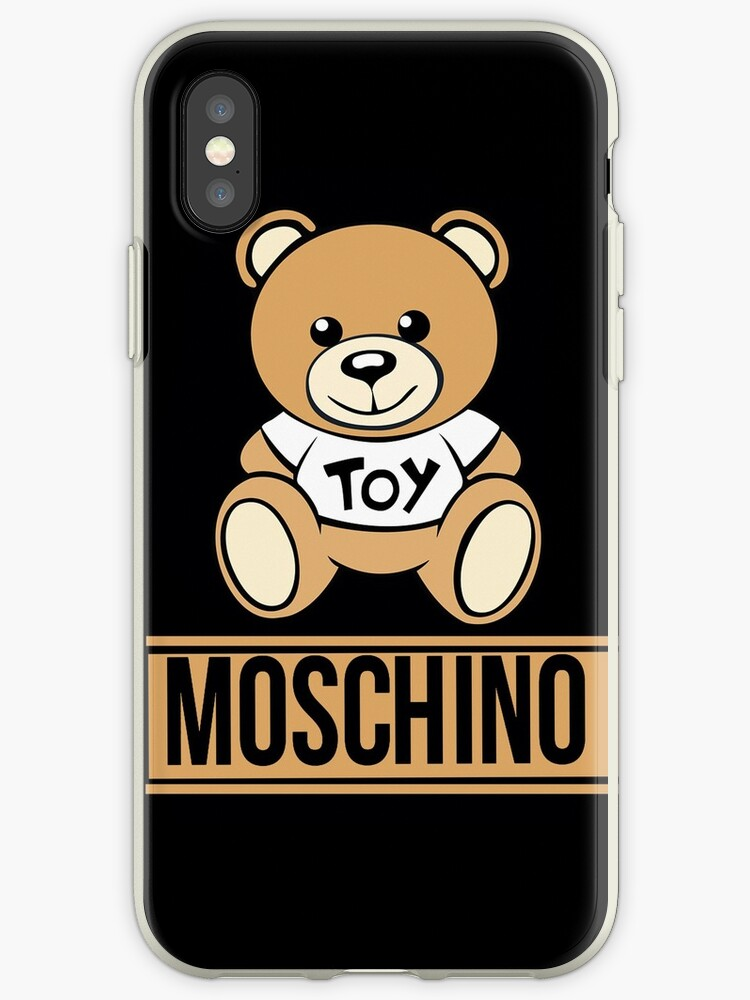 sneakers for cheap 1dc5e fc6fc 'moschino 1' iPhone Case by elliottaheath