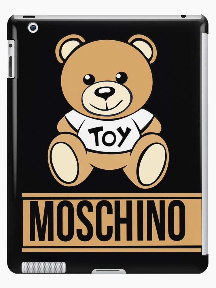 on sale f4189 5fcca 'moschino 1' iPad Case/Skin by elliottaheath