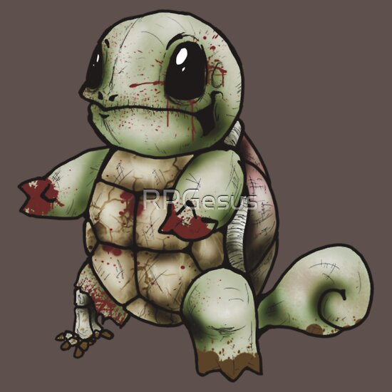 TShirtGifter presents: Zombie Squirtle
