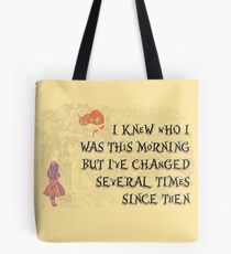 Changed Several Times Tote Bag