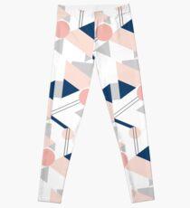 Pink geometry Leggings