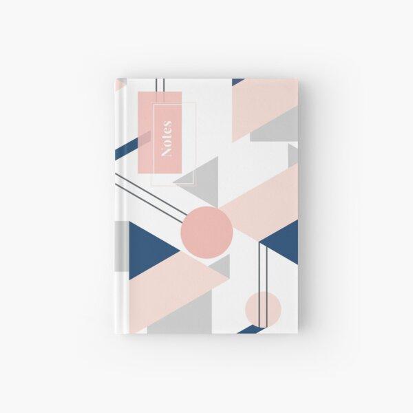 Pink geometry Hardcover Journal