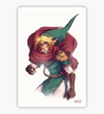 First Hero Link Portrait Sticker