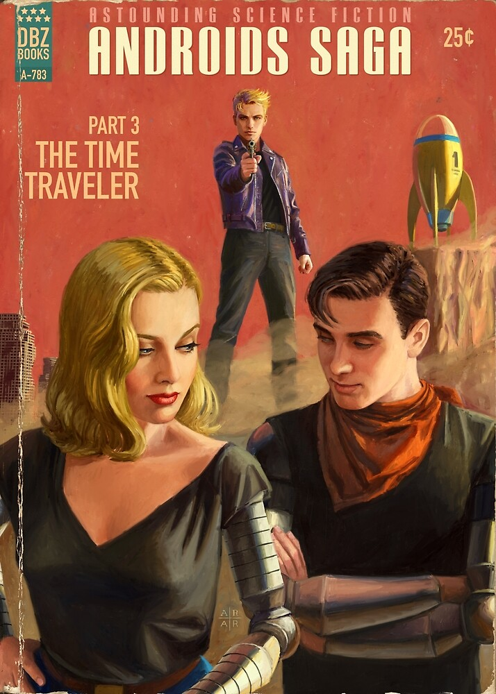AS - The Time Traveler  by Ástor Alexander