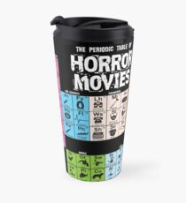 Periodic Table of Horror Movies Travel Mug