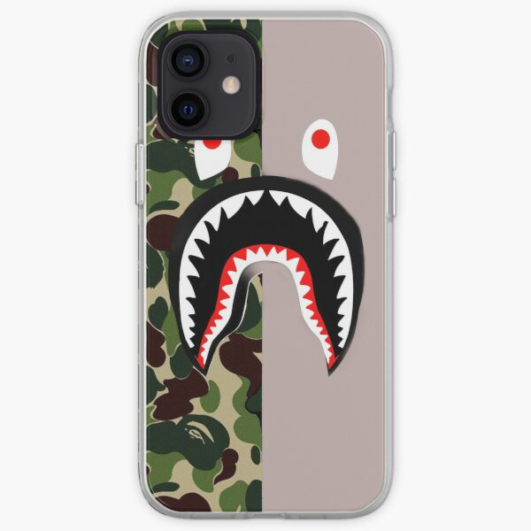 bape flic 1 Coque souple iPhone