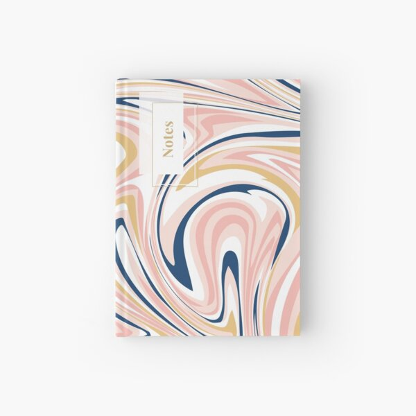 Pink Marble Hardcover Journal