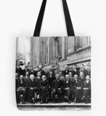 Solvay Conference 1927 Tote Bag