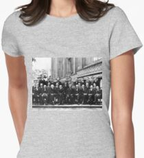 Solvay Conference 1927 Women's Fitted T-Shirt