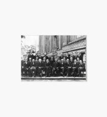 Solvay Conference 1927 Art Board