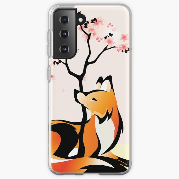 Sakura Kitsune Samsung Galaxy Soft Case