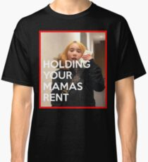 lil tay holding your mamas rent Classic T-Shirt