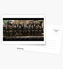 Solvay Conference - Einstein, Bohr, Heisenberg, Curie, Schrödinger, Dirac, Pauli, Planck, Lorentz Postcards