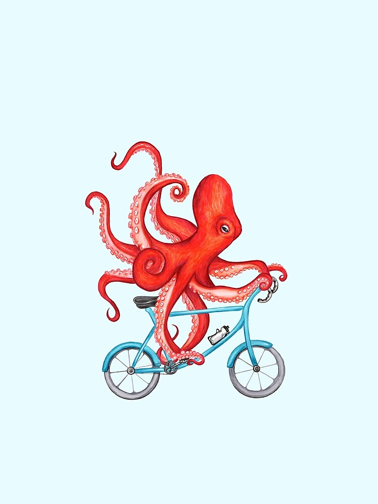 Cycling octopus by amelielegault