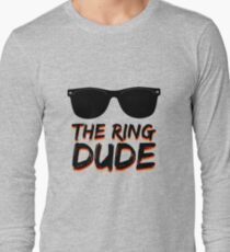 Ring Bearer Gift The Ring Dude Wedding Bridal Party Long Sleeve T-Shirt