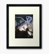 looking glass world Framed Print