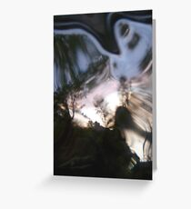 looking glass world Greeting Card