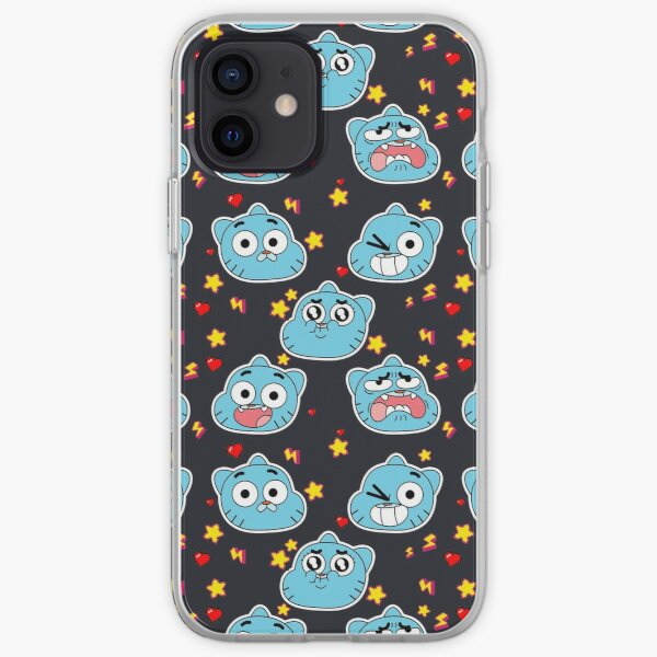 Gumball Pattern iPhone Soft Case