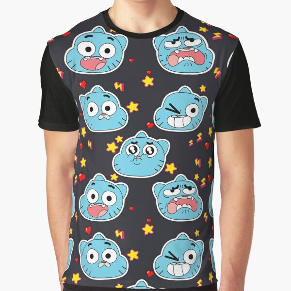 Gumball Pattern Graphic T-Shirt