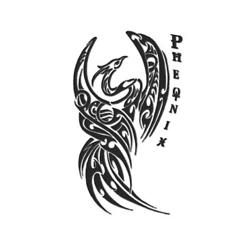 Phoenix Tribal 1 by scatharis