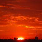 Sky in fire by loiteke