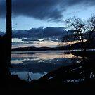 Loch Reflections Montieth by Kimberley Davitt