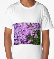 Fairy Foxglove Purple Flowers  Long T-Shirt