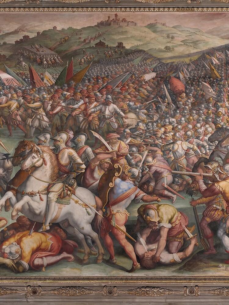 Classic Art The battle of Marciano in Val di Chiana By Giorgio Vasari by podartist