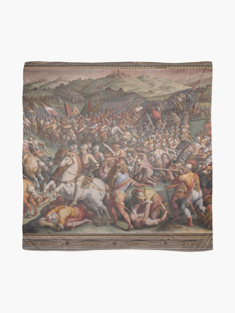 Alternate view of Classic Art The battle of Marciano in Val di Chiana By Giorgio Vasari Scarf