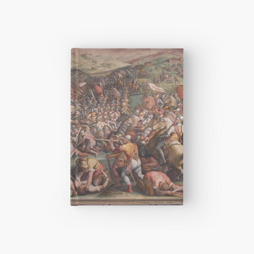 Classic Art The battle of Marciano in Val di Chiana By Giorgio Vasari Hardcover Journal