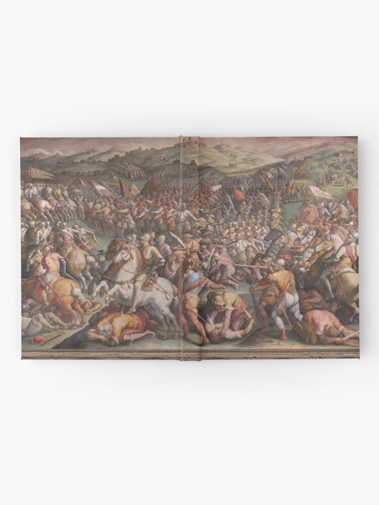 Alternate view of Classic Art The battle of Marciano in Val di Chiana By Giorgio Vasari Hardcover Journal